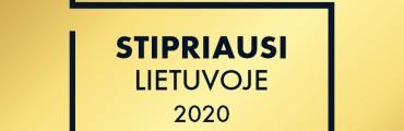 MAZGAS Stipriausi Lietuvoje 2020