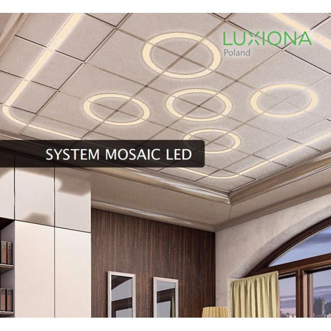 Įmontuojamas lubinis šviestuvas MOSAIC LED